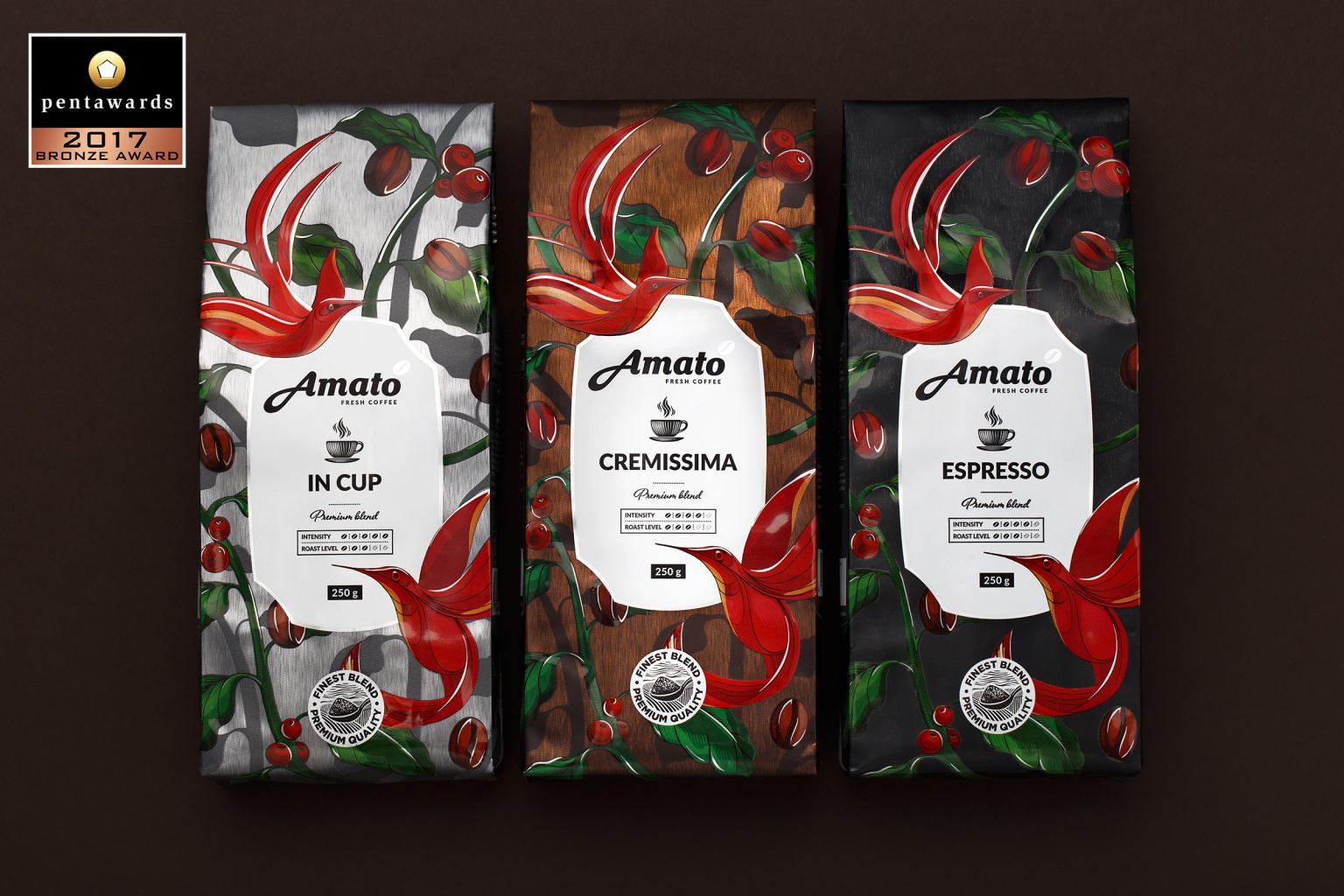 Amato Coffee by Fabula Branding